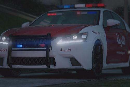 Lexus IS350 Abu Dhabi Police